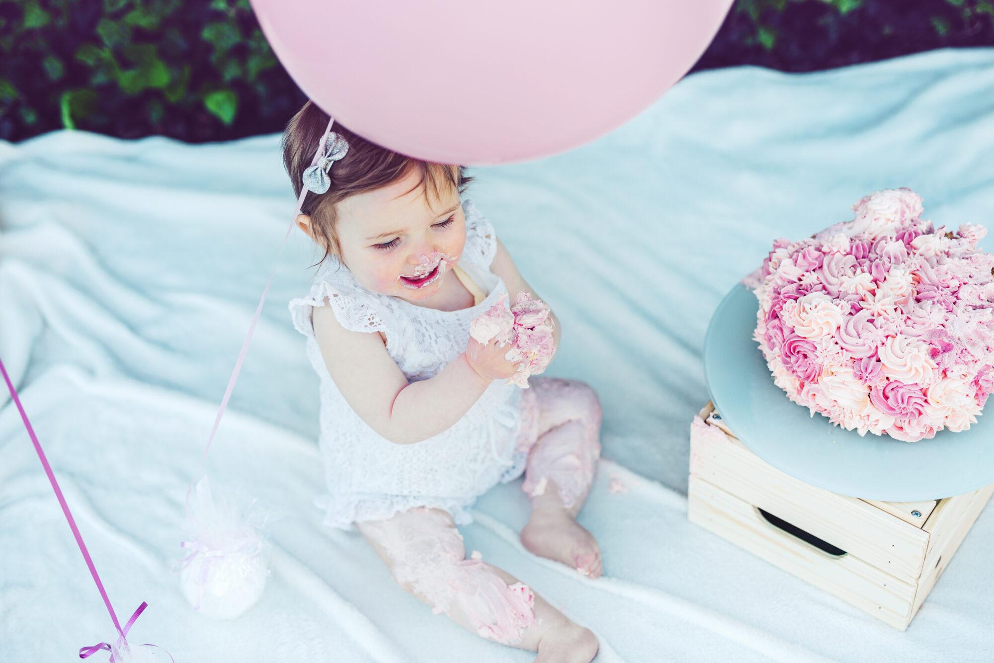 cakesmash birthday shooting
